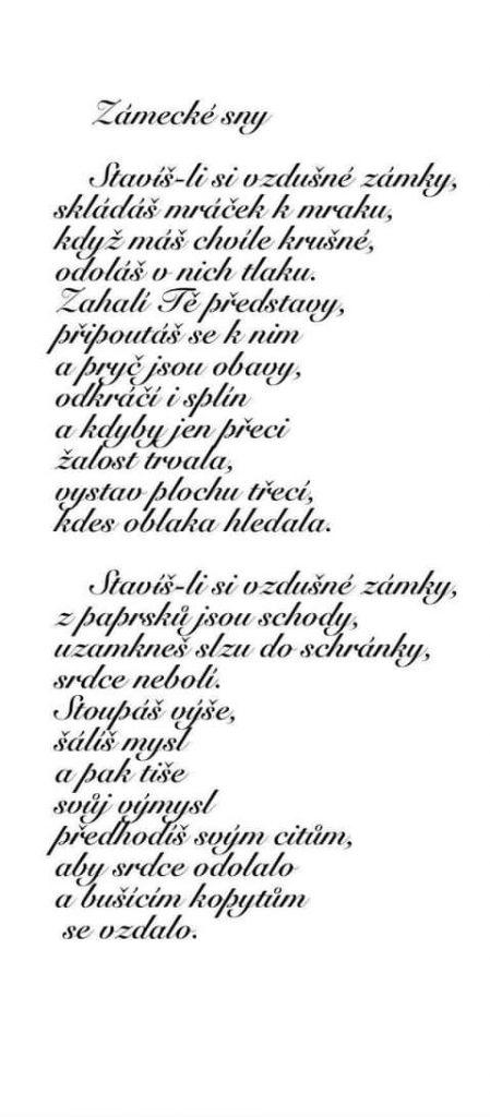 Zdeňka Kolibačová - Zámecké sny